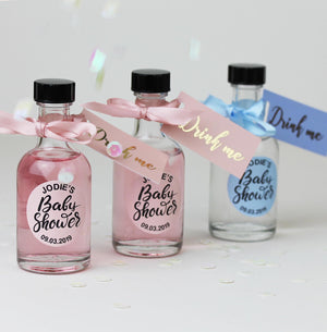 Baby Shower Mini Gin Party Favours