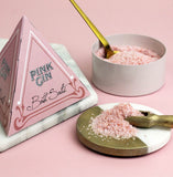Pink Gin Bath Salts in Pyramid Gift Box (w)