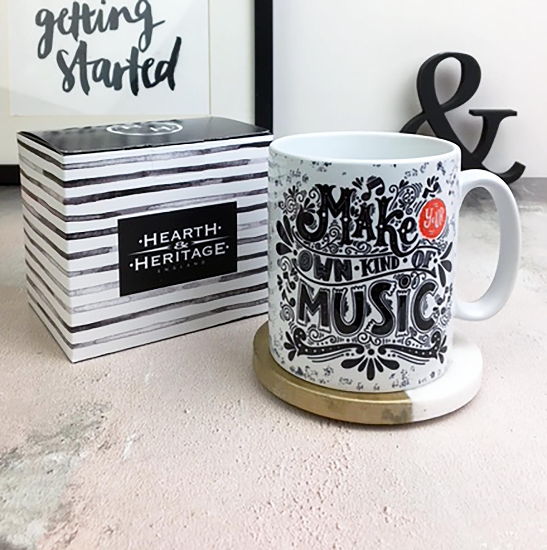 Motivational Good Luck Printed Mug Gift