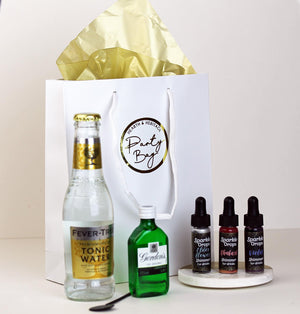 Gin & Tonic Party Bag with Sparkle Drops.