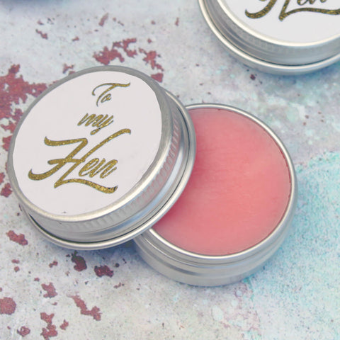 Hen Party Prosecco Lip Balms