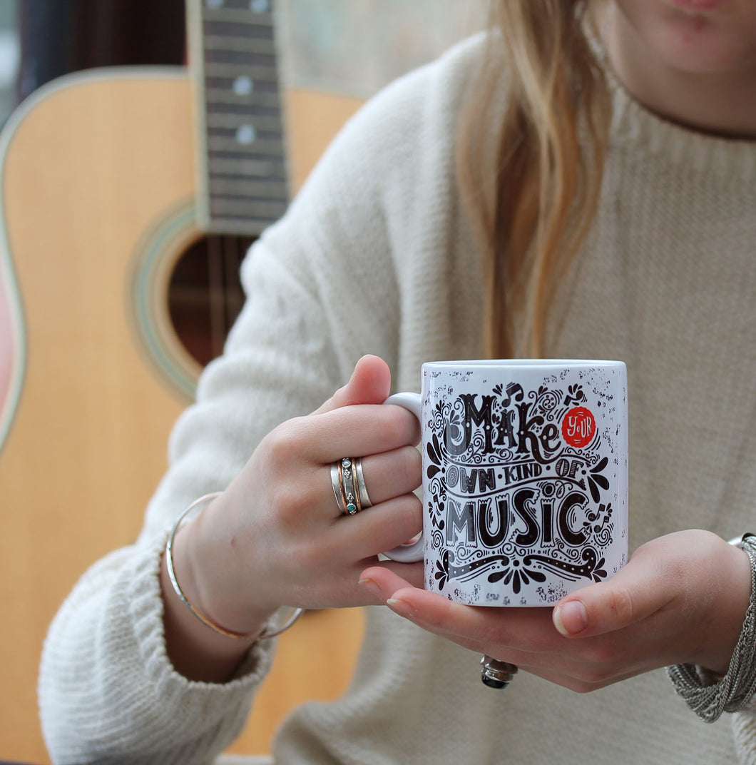Music Lovers Motivational Mug Gift