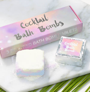 Cocktail Scented Bath Bomb Tablets