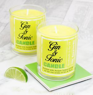 Gin & Tonic Scented Candle (w)