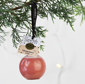 Flavoured Shimmer Gin Bauble