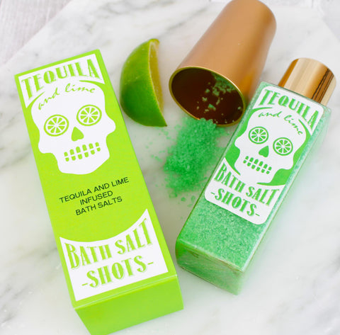 Tequila Scented Bath Salt Shots (W)