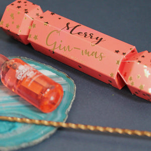 Christmas Cracker with Gin Miniature