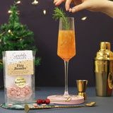 Sparkle and  Flavoured Fizz Bombs for Cocktails