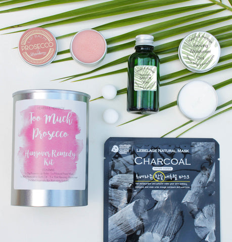 Too Much Fizz Hangover Pamper Kit in a Ringpull Tin (w)