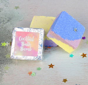Cocktail Scented Bath Bomb Tablets (w)