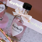 Hen Party Decorated Glass Bottles for Gin