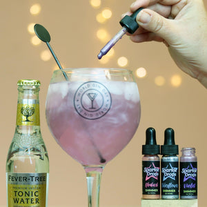 Sparkle drops to make your Gin & Tonic shimmer!