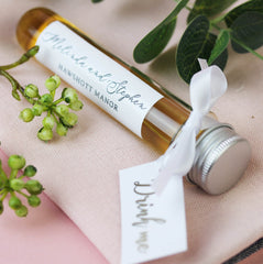 Personalised Test Tube Shot Wedding Favours