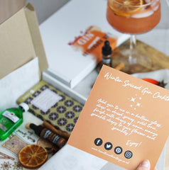 Winter Spiced Orange Gin Letterbox Gift