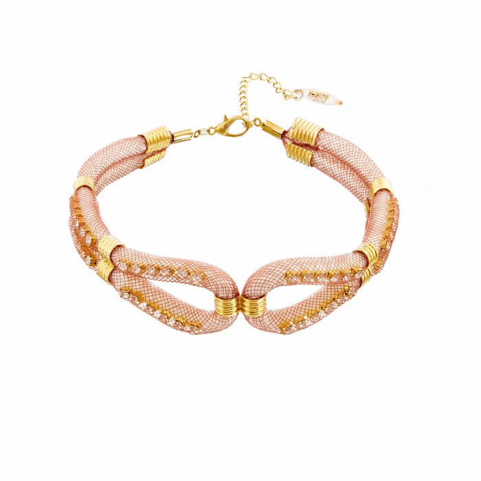goldplated jewellery neckband