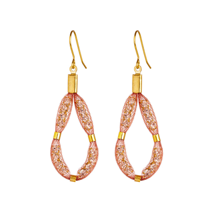 medium teardrop earring design for work wardrobe
