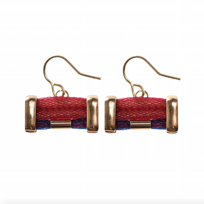 Small Twill earrings