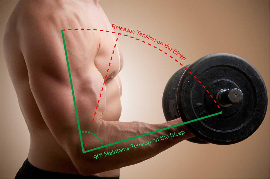 Bicep-curl-tension