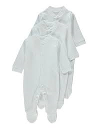 Baby Sleep suits (3 Pack)