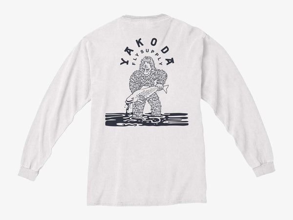 Bigfoot Long Sleeve Pocket Tee