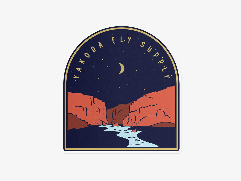 Dream Canyon Sticker