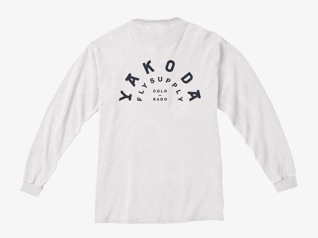 Logo Long Sleeve Pocket Tee