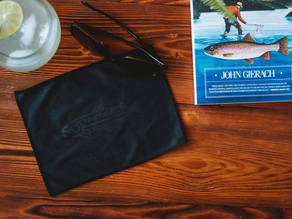 Trout Logo Microfiber Cloth