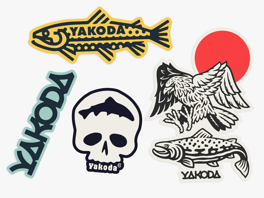 Backcountry Sticker Pack