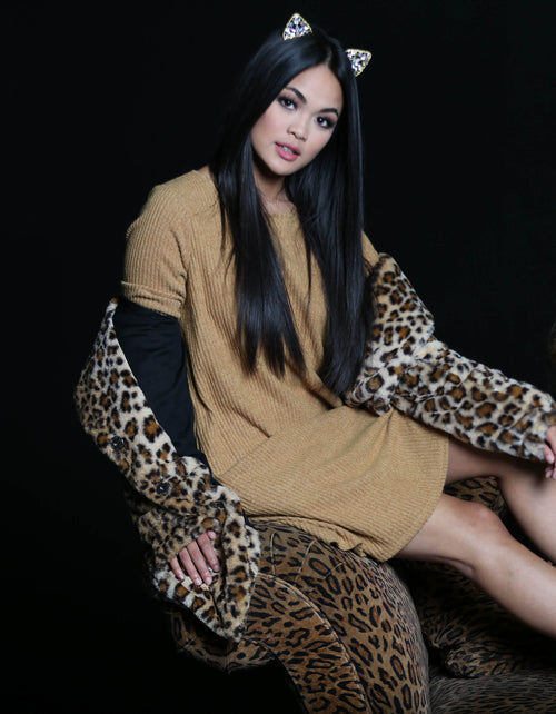Cozy By The Fire Sweater Dress - The Flawless Babe Boutique