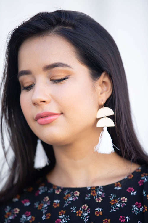Safari Earrings- Buddy Love - The Flawless Babe Boutique