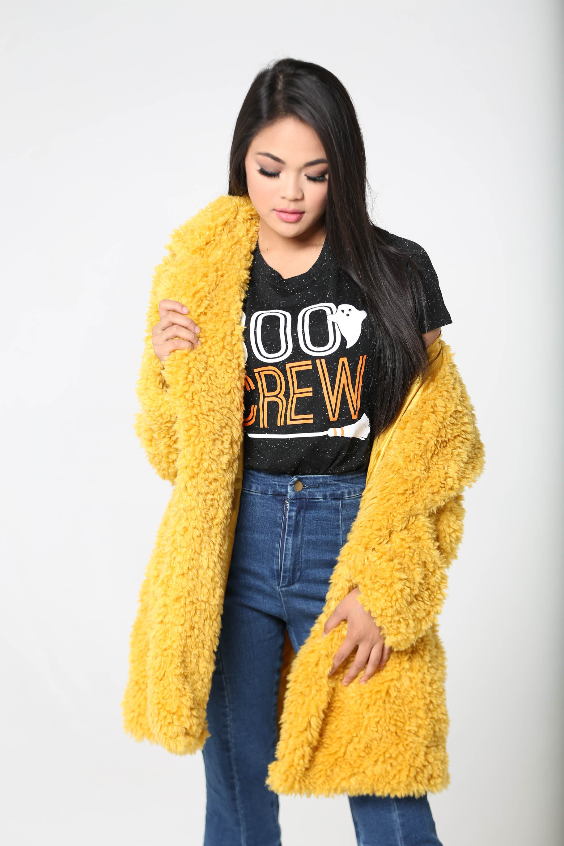 Put A Spell On You Faux Fur Coat - The Flawless Babe Boutique