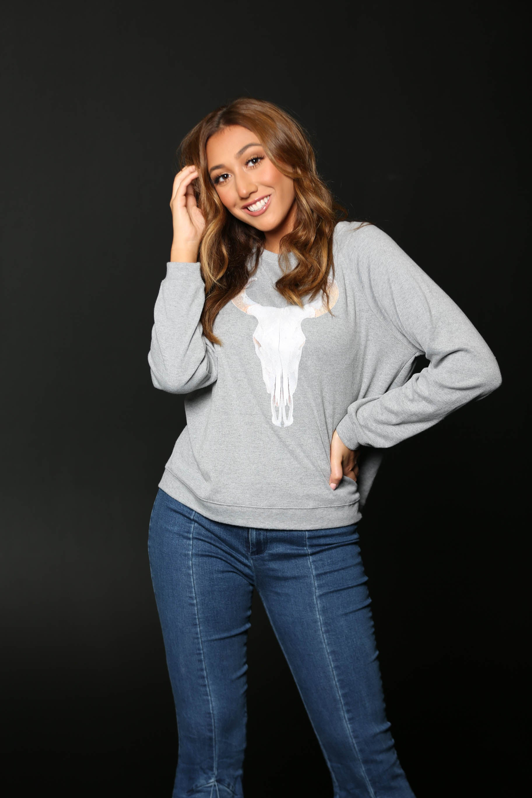 Bowie Sweater- Buddy Love - The Flawless Babe Boutique