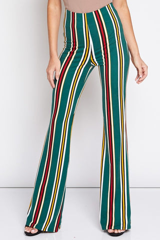 A Groovy Thanksgiving Striped Maxi Dress