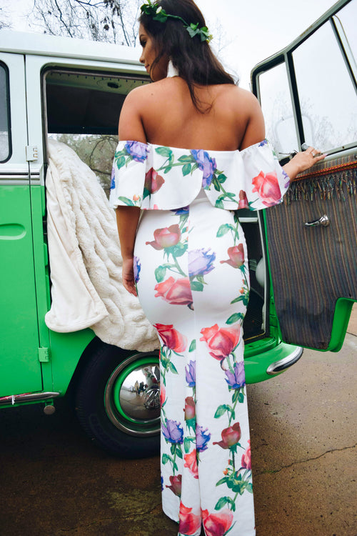 Gypsy Off The Shoulder Maxi Dress