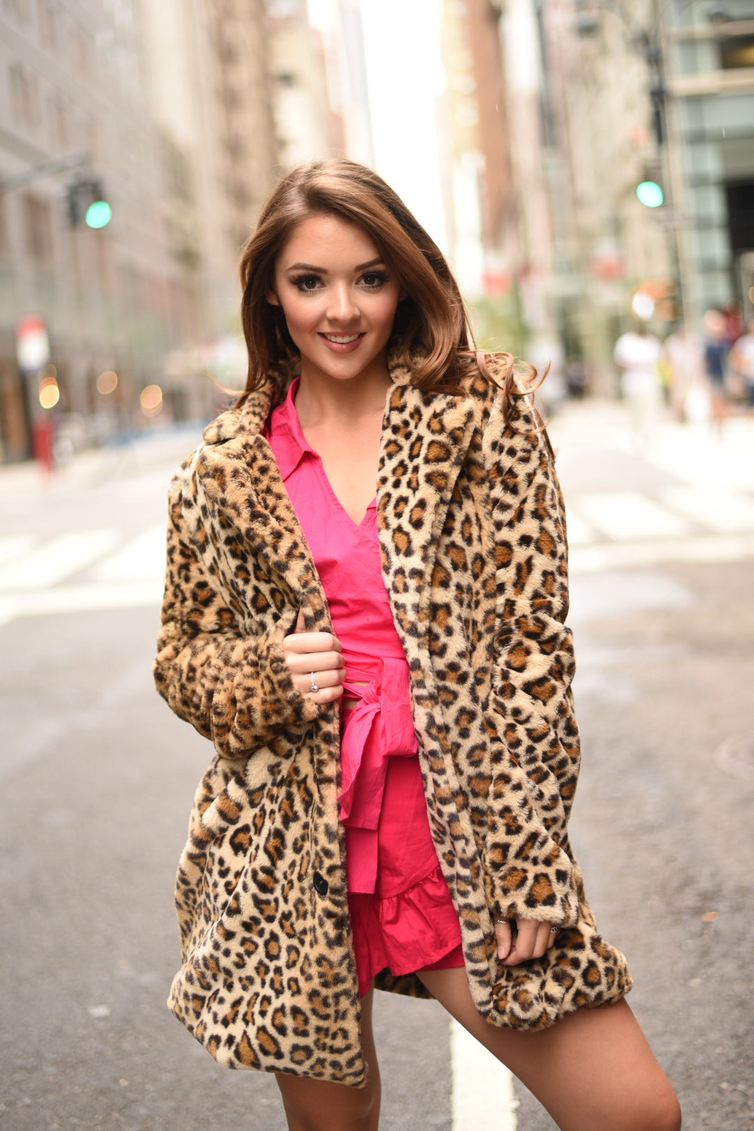 Girls Wanna Have Fun Leopard Coat - The Flawless Babe Boutique