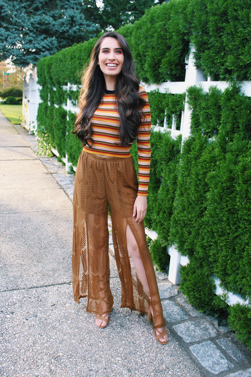 Candy Corn Striped Sweater - The Flawless Babe Boutique