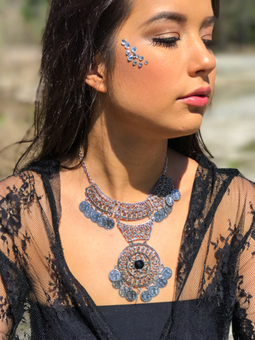 Gypsy Queen Statement Necklace