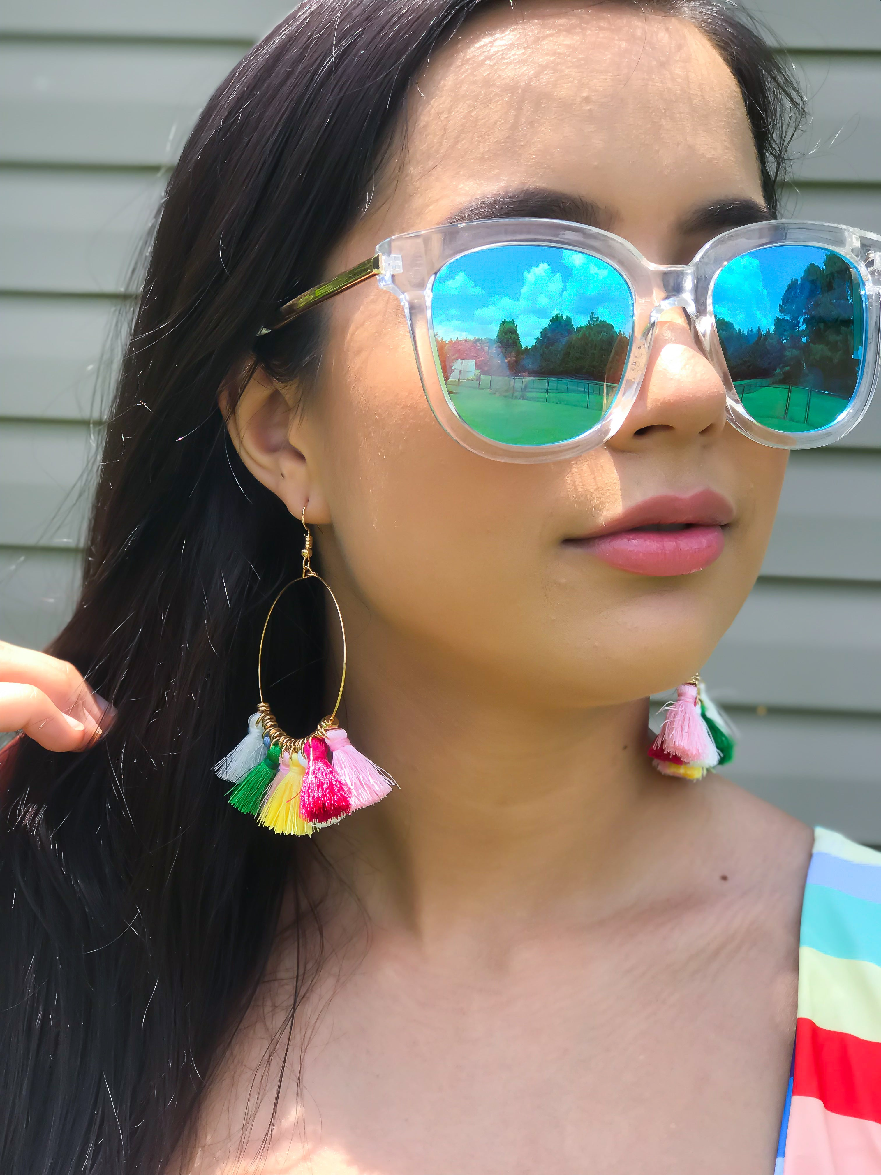 Let's Take A Road Trip Blue Sunglasses - The Flawless Babe Boutique