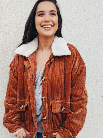 Work And Chill Multi-toned Sherpa Pullover
