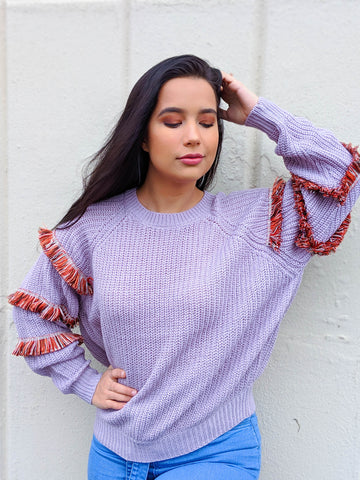 Woodstock Days Crochet Cropped Sweater