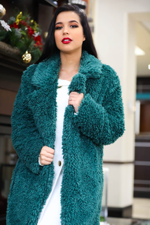 Rockin' Around The Christmas Tree Fur Coat