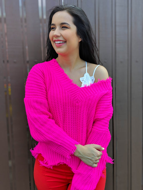 Neon Lights Sweater