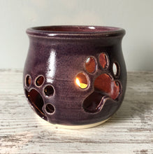 Small Paw Candle Holders