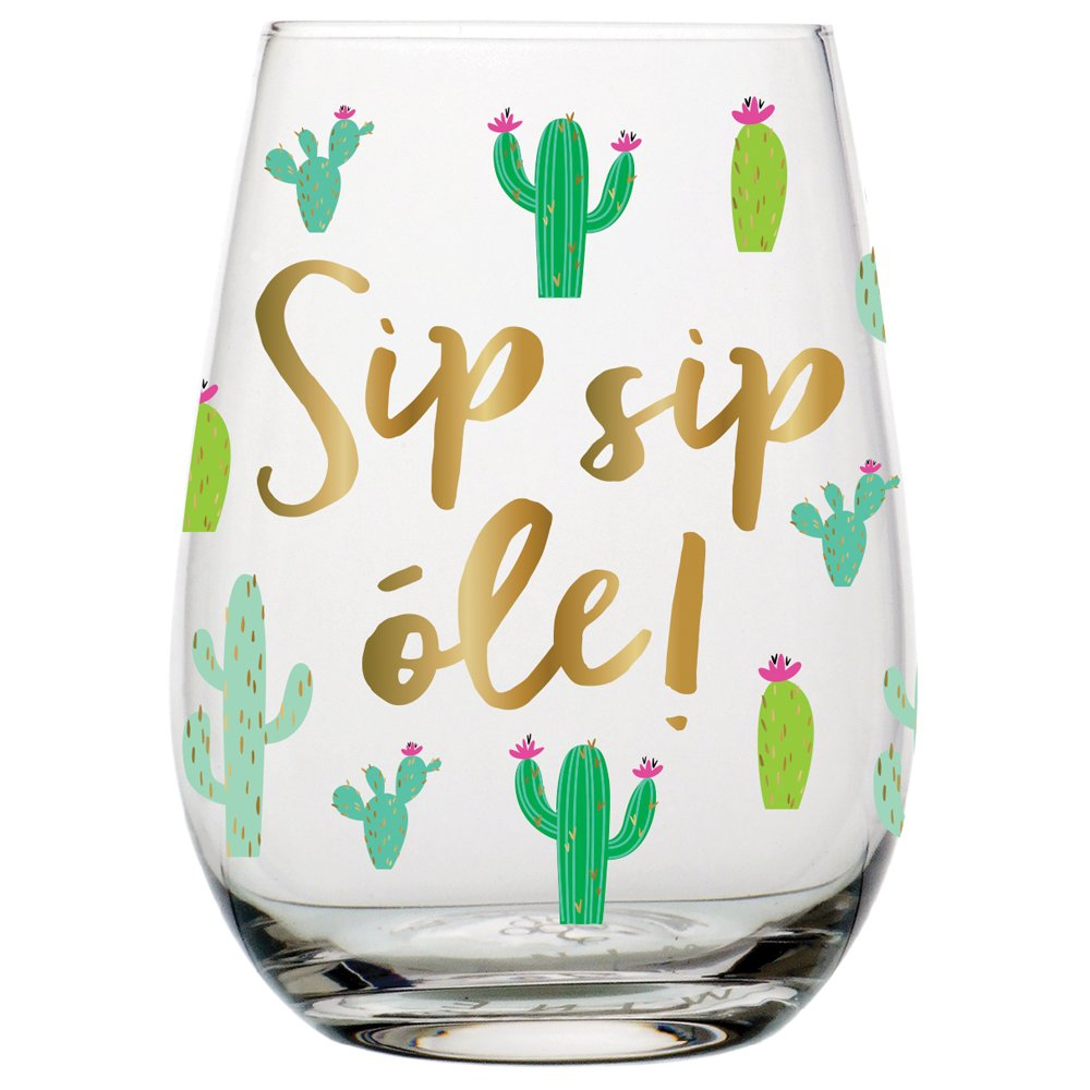 Popcheeks Undies Printed Panties | Cactus Stemless Wine Glass 20oz | desert life