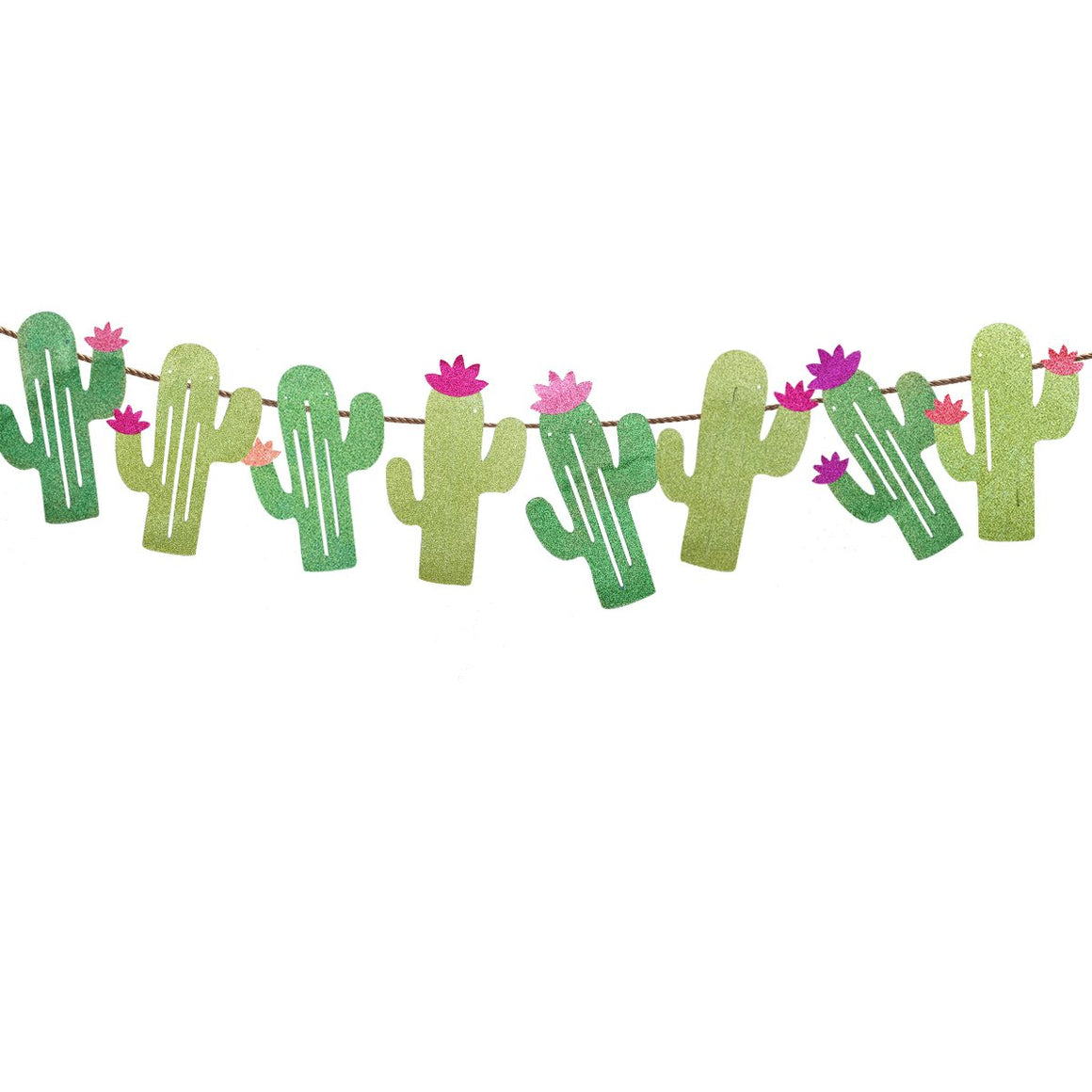 Cactus Party Banner Garland - Popcheeks