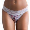 Popcheeks Undies Printed Panties | Floral Fawn Lace Bikini | Fall, Fall Collection, meta-size-chart-fall-collection-size-chart, Original Lace Bikini, Panties, spring, summer, Underwear, valentines | 025