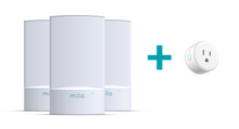 TV - Milo Wifi 3-Pack + Free Milo Smart Plug
