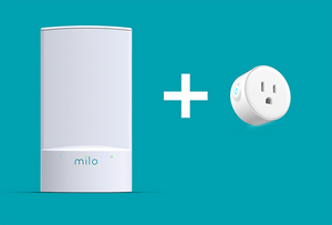 (EC) Milo Wifi Single Pack + 2-Pack Milo Smart Plug
