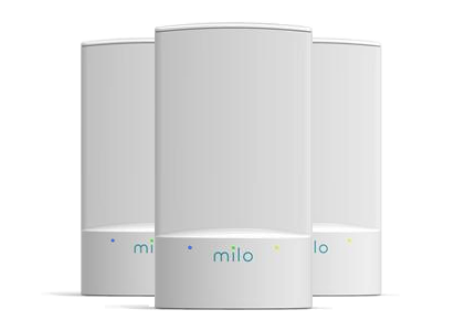 milo 2.0 three-pack wifi range extenders