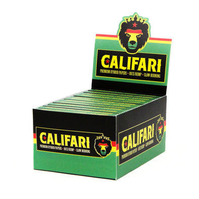 Califari Hybrid Rolling Papers – 24 pack Dispenser
